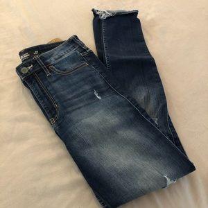Hollister size 5 dark wash jeans